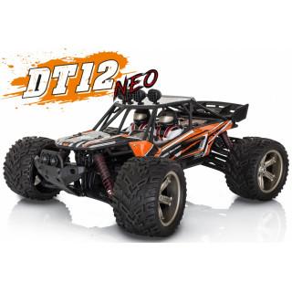 DT-12 NEO elektro Offroad homokfutó BUGGY - 2.4GHz RTR - narancssárga