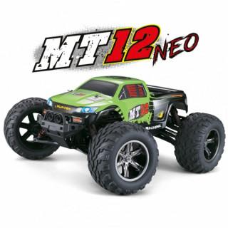 MT-12 NEO elektro Offroad Monster truck - 2.4GHz RTR - zelený