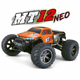 MT-12 NEO elektro Offroad Monster truck - 2.4GHz RTR - narancssárga
