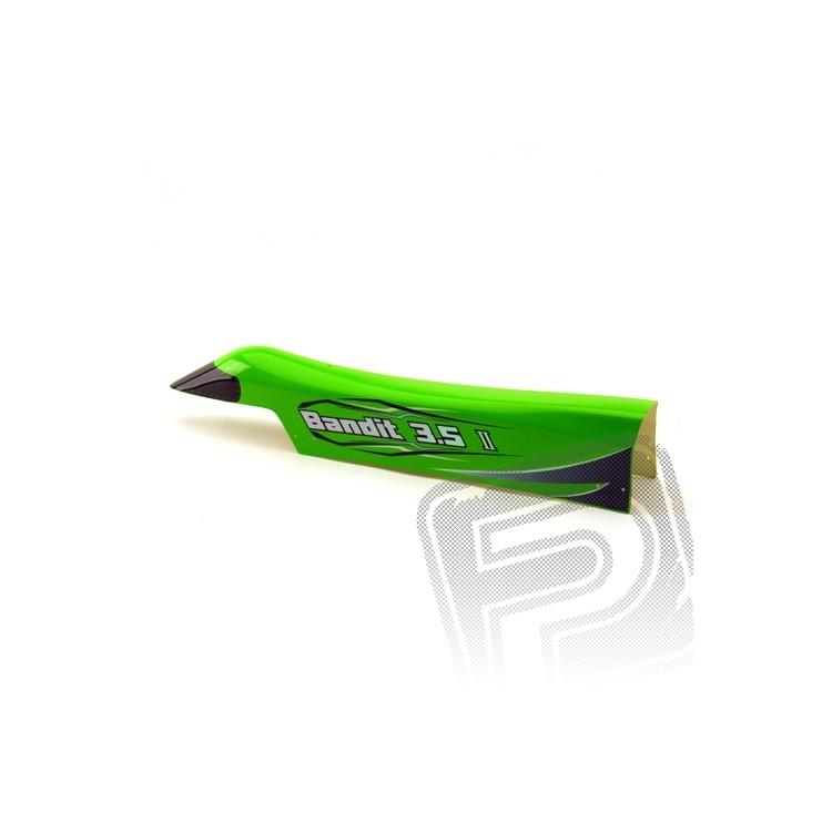 GFK vrchní víko, zelené, 5210