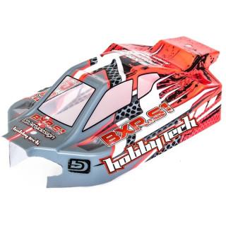 BXR.S1 Bitty design festett lexan karosszéria szárnyal