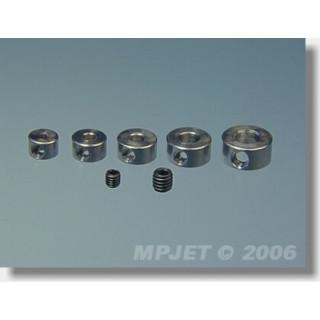 2804 Stavěcí kroužek mosaz 4 mm 4 ks