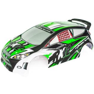 RX12 zöld lakozott lexan karosszéria