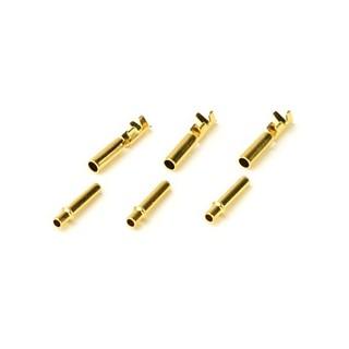 Aranyozott csatlakozó (2mm), 6db, INNO