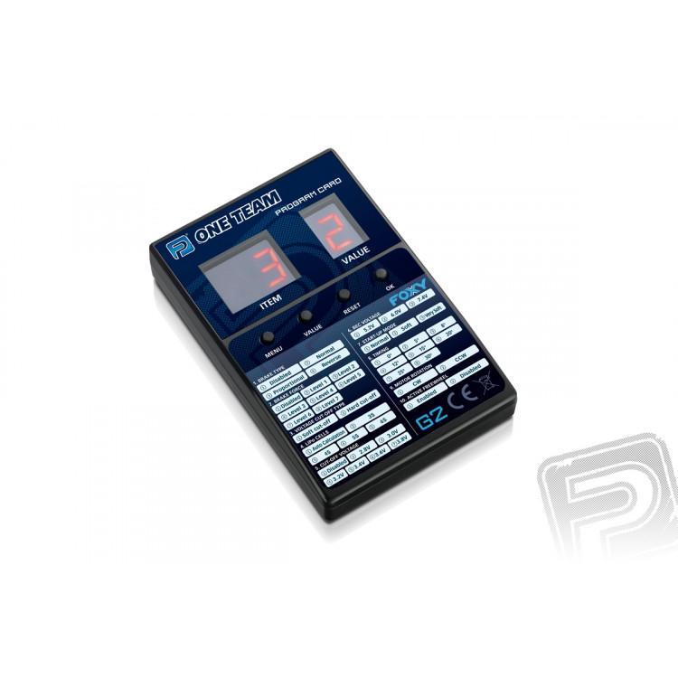 Programovací karta G2 Foxy