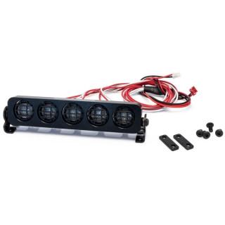 Hliníková světlená rampa, kulaté reflektory - 109mm