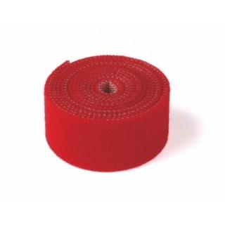 Suchý zip oboustraný 1000mm, červený