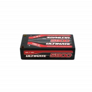 ULTIMATE GRAPHENE HV LiPo Hardcase 5800mAh 7.6V 120C G5