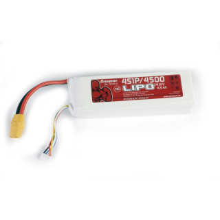 POWER PACK Li-Pol 4500mAh/14,8V 70C s XT90 konektorem