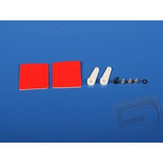5706 Páka serva HS-125MG/5125MG jednoramenná 2ks