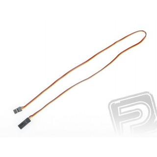 4605 S prodlužovací kabel 60cm JR plochý silný, zlacené kontakty