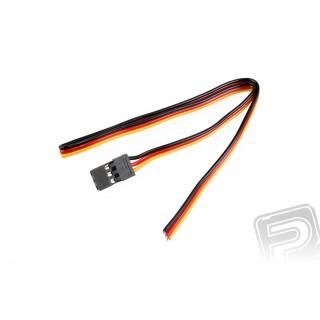 "5810 Servo kabel silný pro digi serva 300mm, konektor ""S"" Hitec"