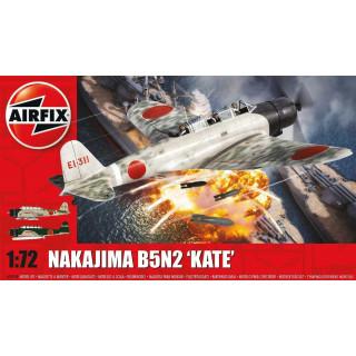 Classic Kit letadlo A04058 - Nakajima B5N2 Kate (1:72) - nová forma