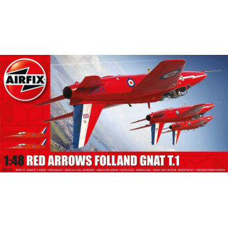 Classic Kit letadlo A05124 - Red Arrows Gnat (1:48)