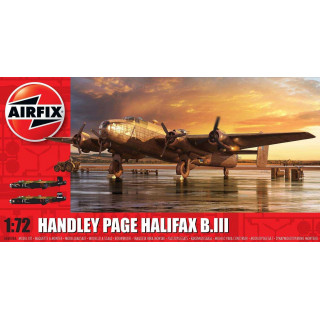 Classic Kit letadlo A06008A - Handley Page Halifax B MKIII (1:72)