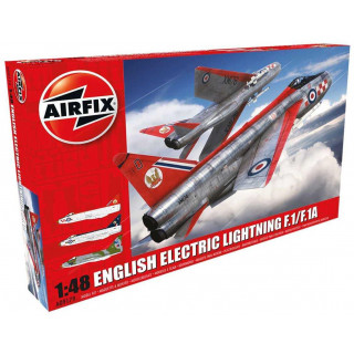 Classic Kit letadlo A09179 - English Electric Lightning F.1/F.1A (1:48) - reedice