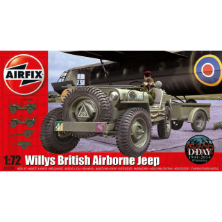 Classic Kit military A02339 - Willys Jeep, Trailer & 6PDR Gun (1:72)