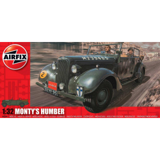 Classic Kit military A05360 - Monty's Humber Snipe Staff Car (1:32)