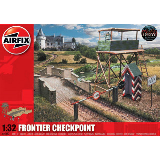Classic Kit diorama A06383 - Frontier Checkpoint (1:32)
