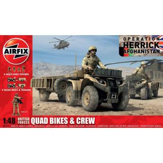Classic Kit figurky A04701 - British Quad Bikes and Crew (1:48)