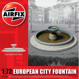 Classic Kit budova A75018 - European City Fountain (1:72)