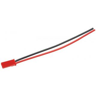 Konektor zlacený JST samec s kabelem 20AWG 8cm