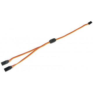 Kabel serva Y plochý JR 22AWG 30cm