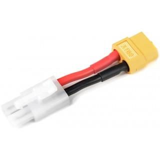 Konverzní kabel Tamiya samec - XT-60 samec 14AWG
