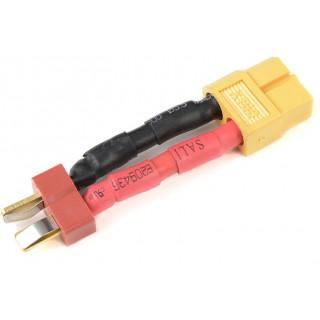 Konverzní kabel Deans samec - XT-60 samec 12AWG