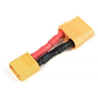 Konverzní kabel XT-60 samice - XT-90 samec 12AWG