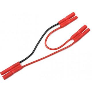 Kábel Y sorozat 2,0mm aranyozott 14AWG 12cm
