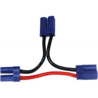Kábel Y sorozat EC5 aranyozott 14AWG 12cm