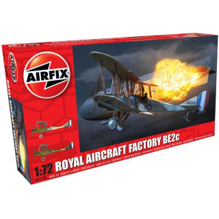 Clasic Kit letadlo A02101 - Royal Aircraft Facility BE2C (1:72)
