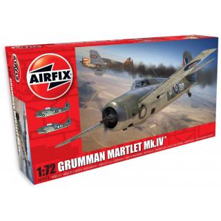 Clasic Kit letadlo A02074 - GRUMMAN MARTLET Mk.IV (1:72)