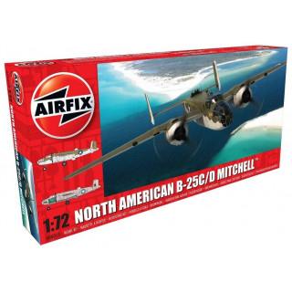Classic Kit repülőgép A06015 - North American B25C/D Mitchell (1:72) - új forma