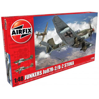 Classic Kit letadlo A07115 - Junkers JU87B-2/R-2 (1:48)