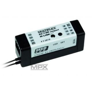 55819: RX-7 DR vevő, compact M-LINK 2,4GHz