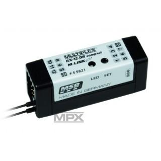 55821: RX-12 DR compact M-LINK 2,4GHz Vevő