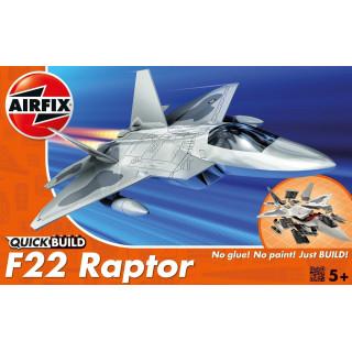 Quick Build repülőgép J6005 - Lockheed Martin Raptor