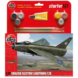 Starter Set letadlo A55305 - English Electric Lightning F2A (1:72)