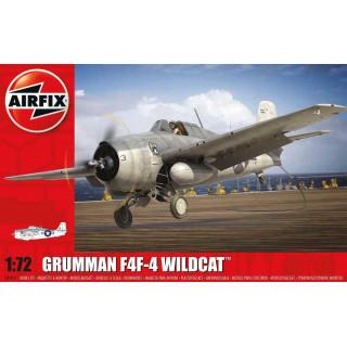 Starter Set letadlo A55214 - Grumman Wildcat F4F-4 (1:72 )- nová forma