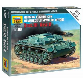 Wargames (WWII) tank 6155 - Sturmgeschütz III Ausf.B (1:100)