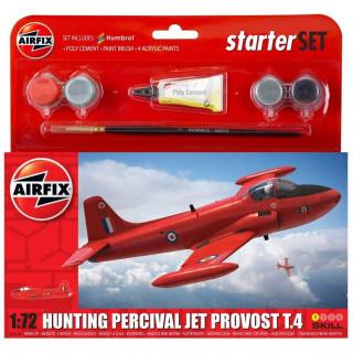 Starter Set letadlo A55116 - Hunting Percival Jet Provost T.4 (1:72)