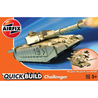 Quick Build tank J6010 - Challenger Tank