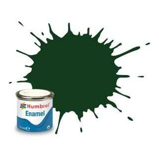 Humbrol barva email AA0031 - No 3 Brunswick Green - Gloss - 14ml