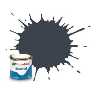 Humbrol barva email AA1506 - No 32 Dark Grey - Matt - 14ml