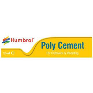 Humbrol Poly Cement Medium AE4021 - lepidlo na plasty 12ml tuba