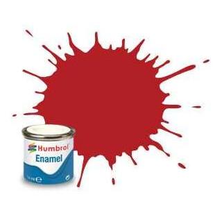Humbrol barva email AA1660 - No 153 Insignia Red - Matt - 14ml