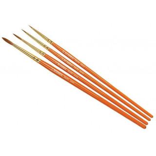 Humbrol Palpo Brush Pack AG4250 - sada štětců (velikost 000/0/2/4)
