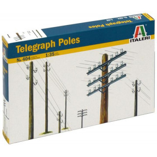 Model Kit doplňky 0404 - TELEGRAPH POLES (1:35)